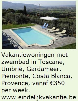 Te huur vanaf €300 per week